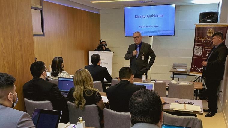 Escritório promove curso de Direito Ambiental para convidados