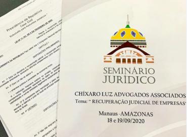 Escritório Chíxaro Luz promove Seminário sobre Recuperação Judicial